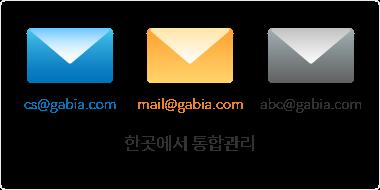 한 곳에서 통합관리하는 멀티 메일